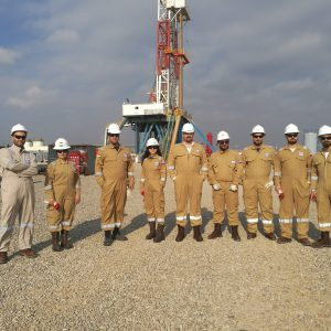 PTE and SPE Students Visits Gazprom Neft in Garmian