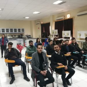 Komar Student SPE chapter visits Koya University